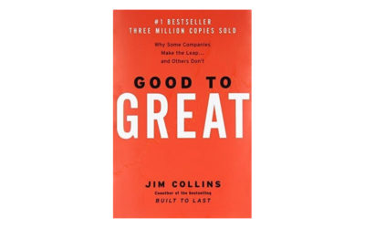 Good to Great: Why Some Companies Make the Leap… and Others Don't (Jim Collins)