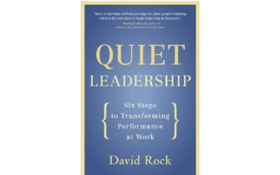 Quiet Leadership: Six Steps to Transforming Performance at Work (David Rock)