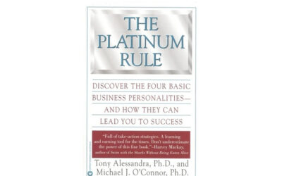 The Platinum Rule: Discover the Four Basic Business Personalities – and How They Can Lead You to Success (Tony Alessandra and Michael O'Connor)