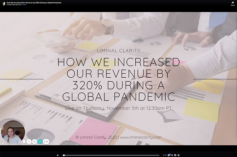 How We Increased Revenue by 320% During a Global Pandemic